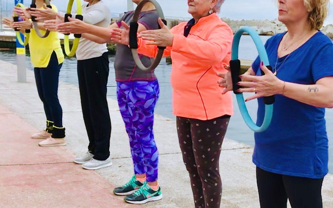 Sarcopenia 4. Prevención  ¿Qué podemos hacer con personas adultas mayores y  sénior medianamente entrenadas?